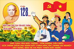 128 năm Ngày sinh Bác Tôn