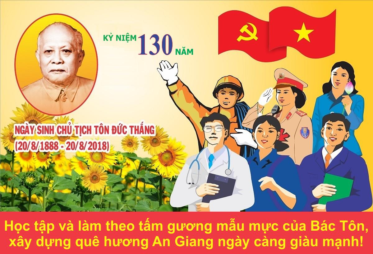 130 năm Ngày sinh Bác Tôn